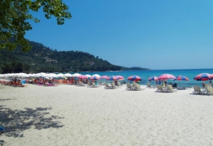 GOLDEN BEACH, Maria Hotel, Thassos, island, rooms, hotels, vacations, golden beach